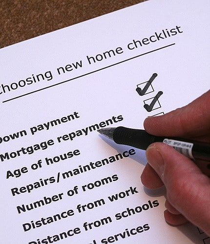 Home for Rent Checklist