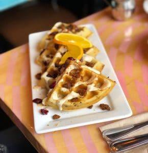 vegetarian waffles