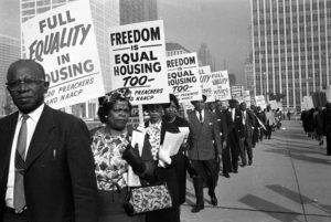 Fair housing Act protest
