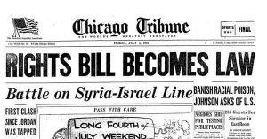 chicago tribune 1963